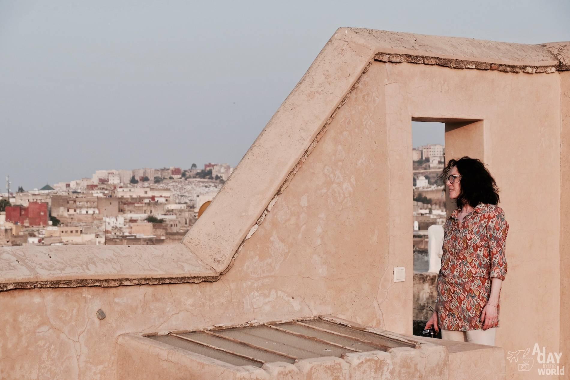 dar bensouda fes terrasse panoramique