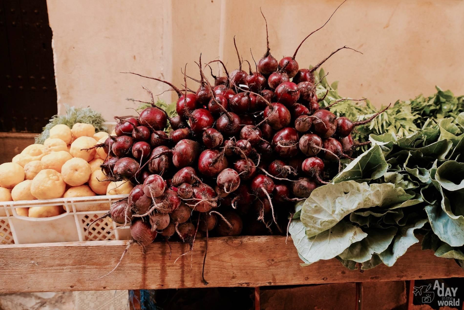 légumes maroc