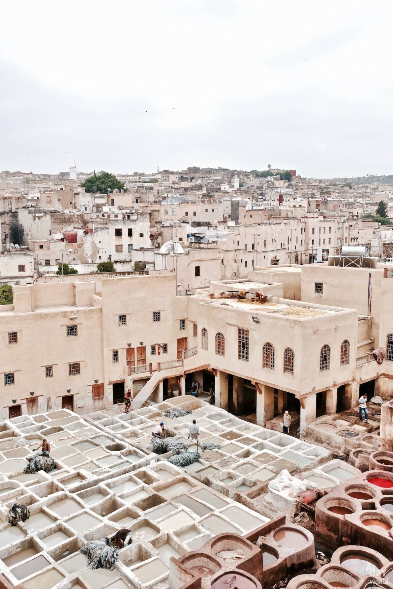 panorama tanneries fes
