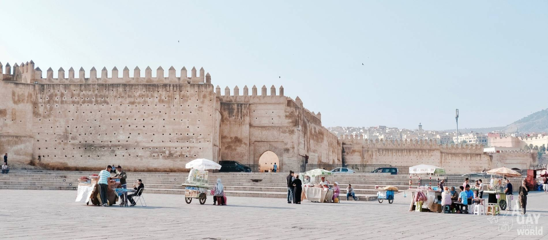 remparts fes maroc