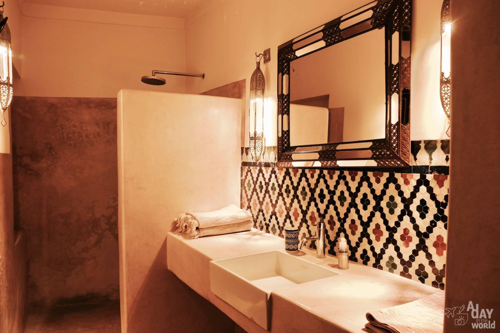 salle de bain dar bensouda