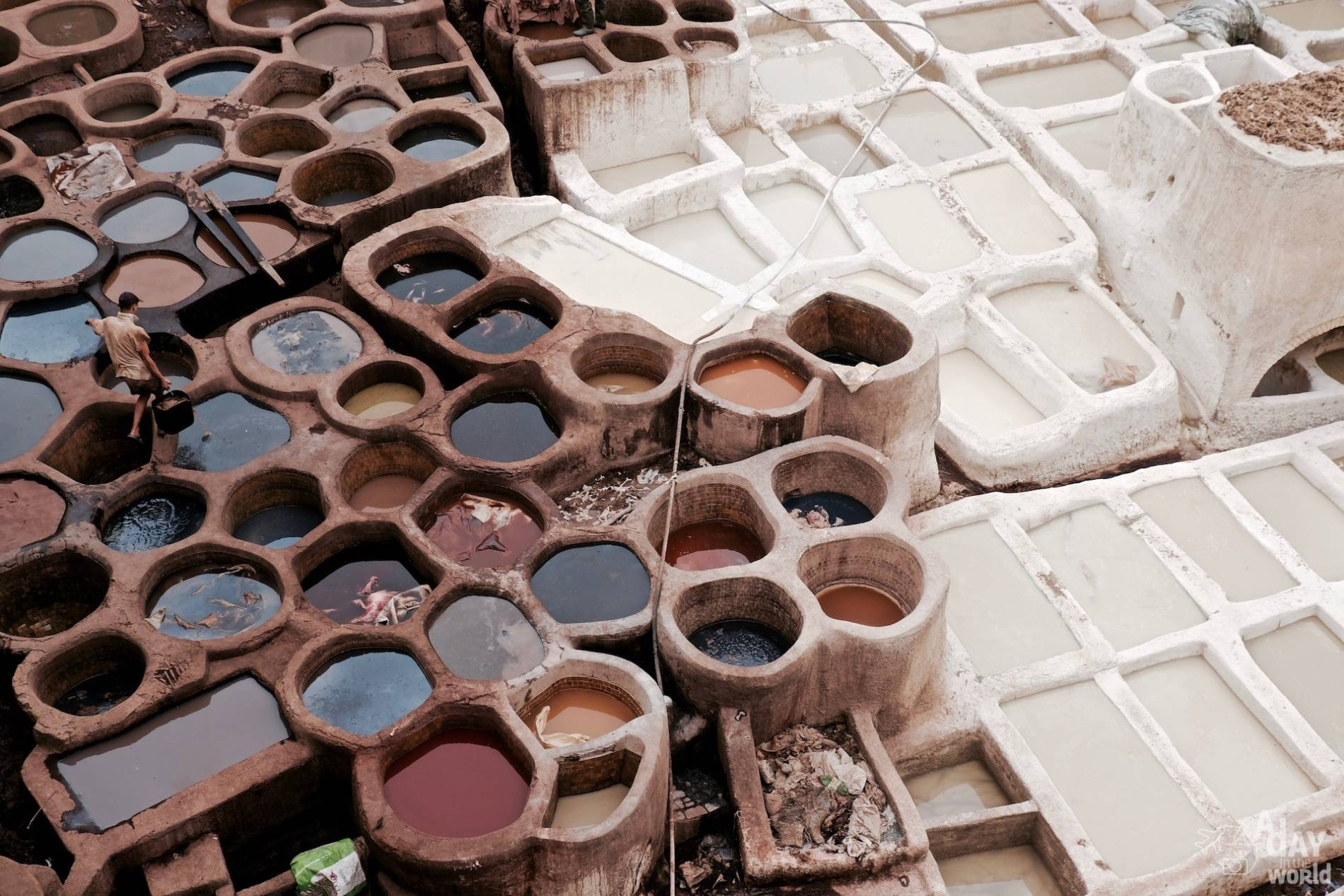 tanneries sidi moussa fès maroc