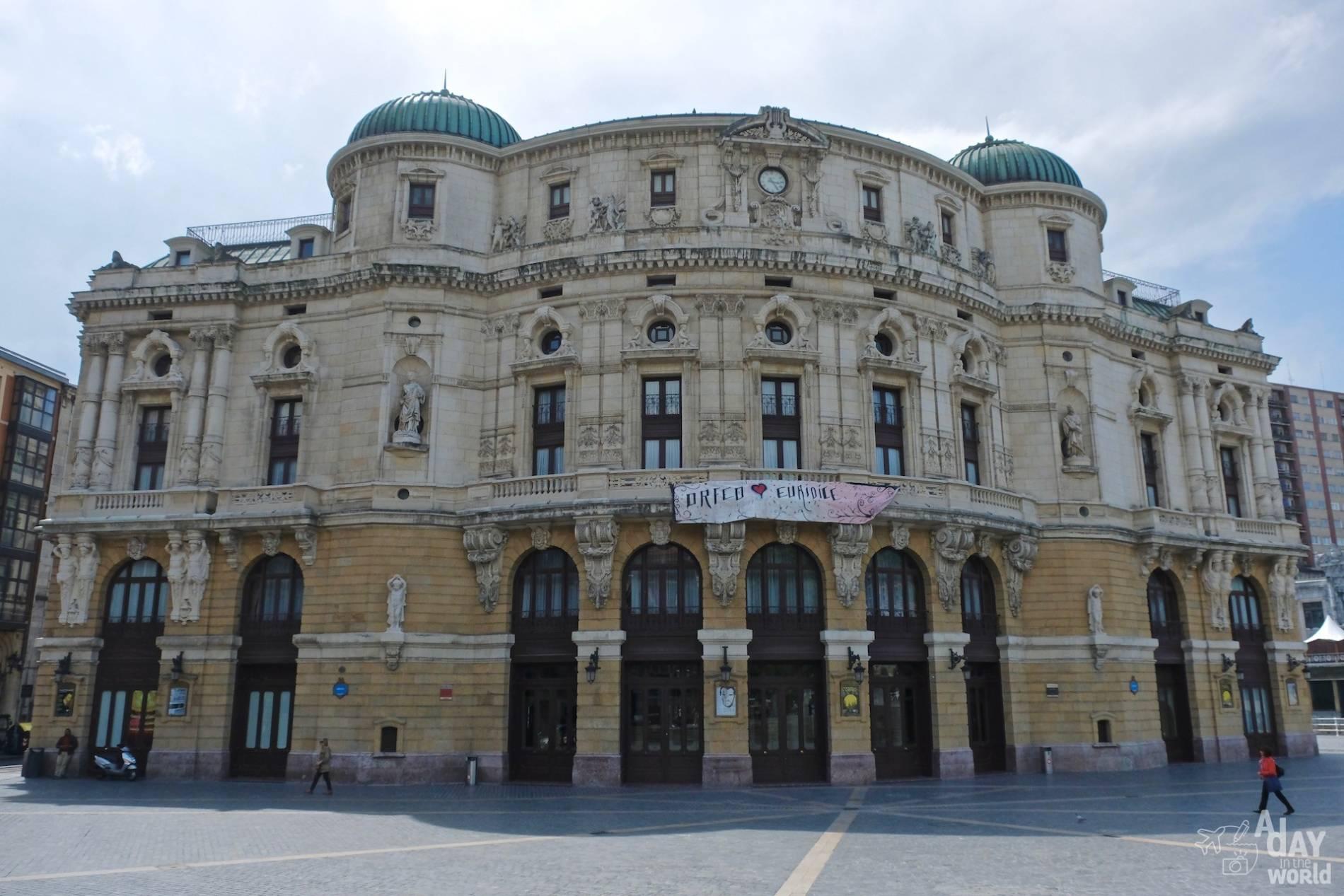 theatre Arriaga bilbao