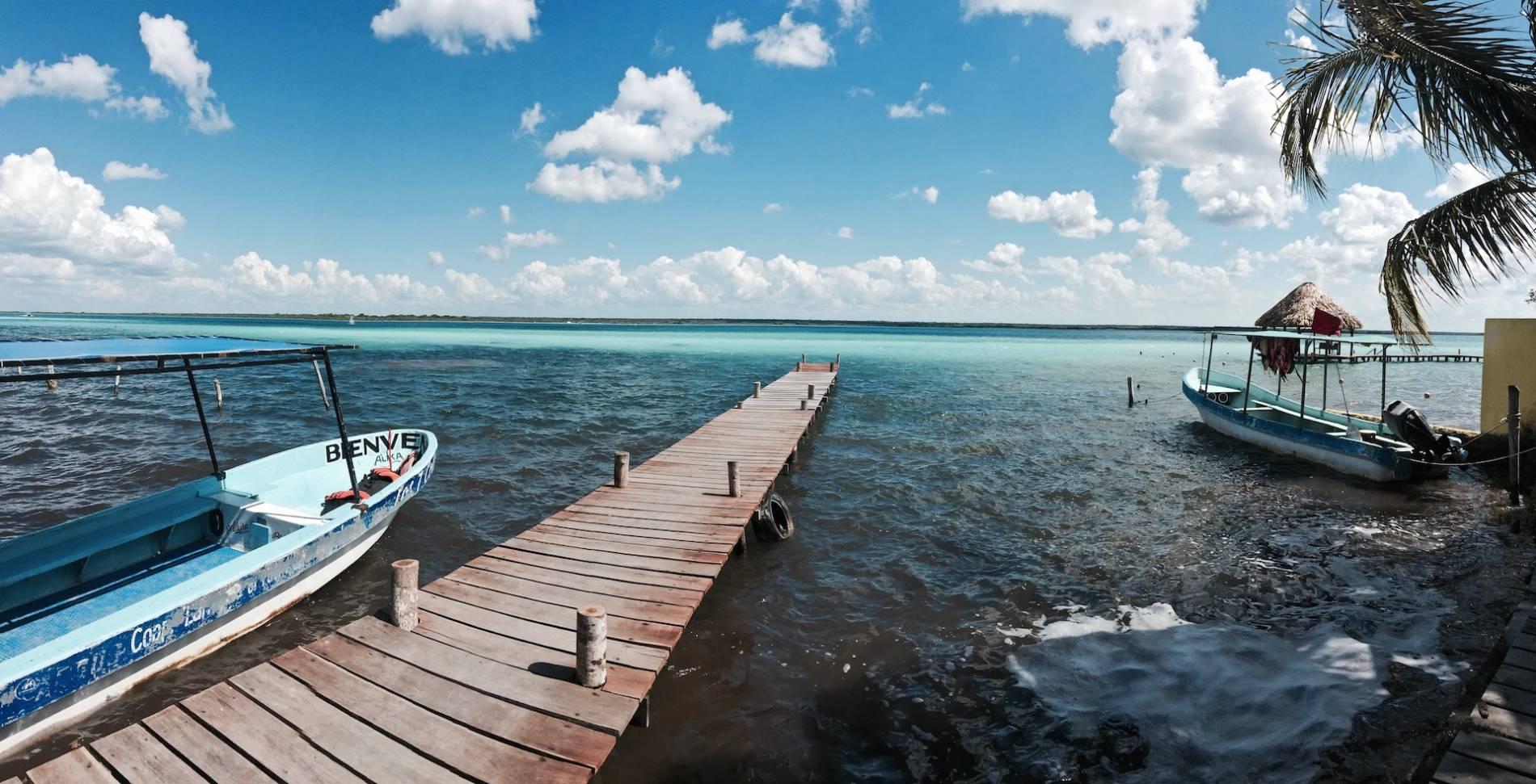 autour de la lagune de bacalar