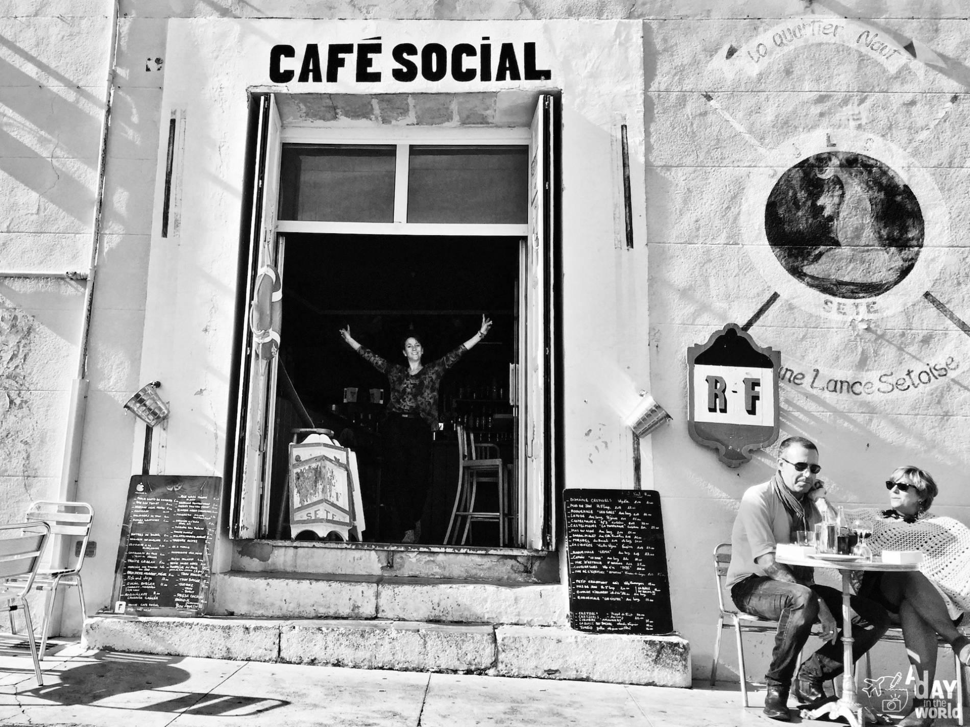 cafe social sete