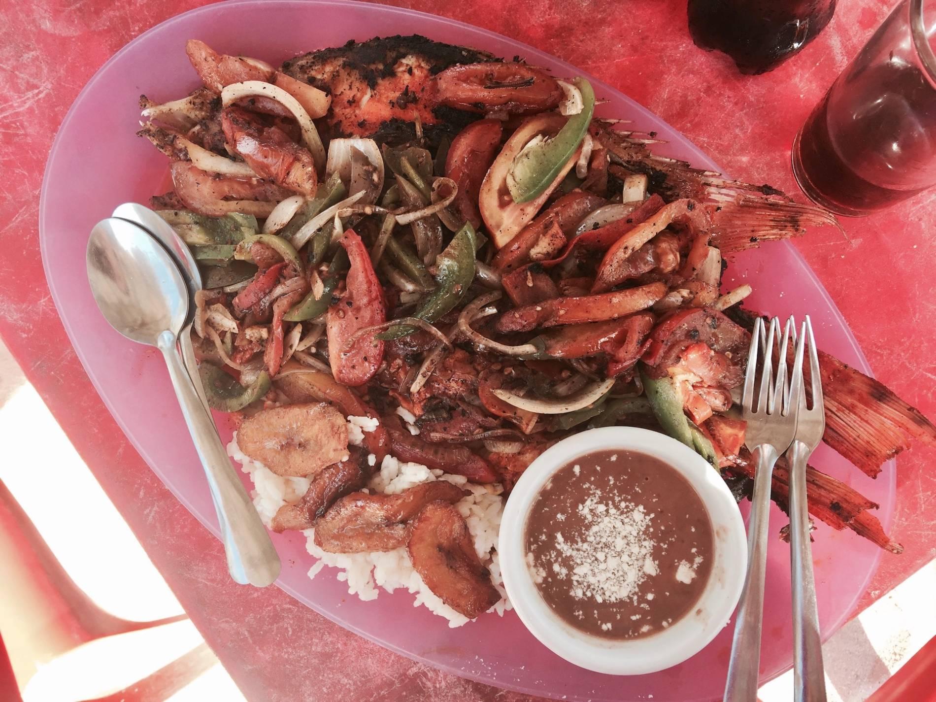 poisson frais mexique