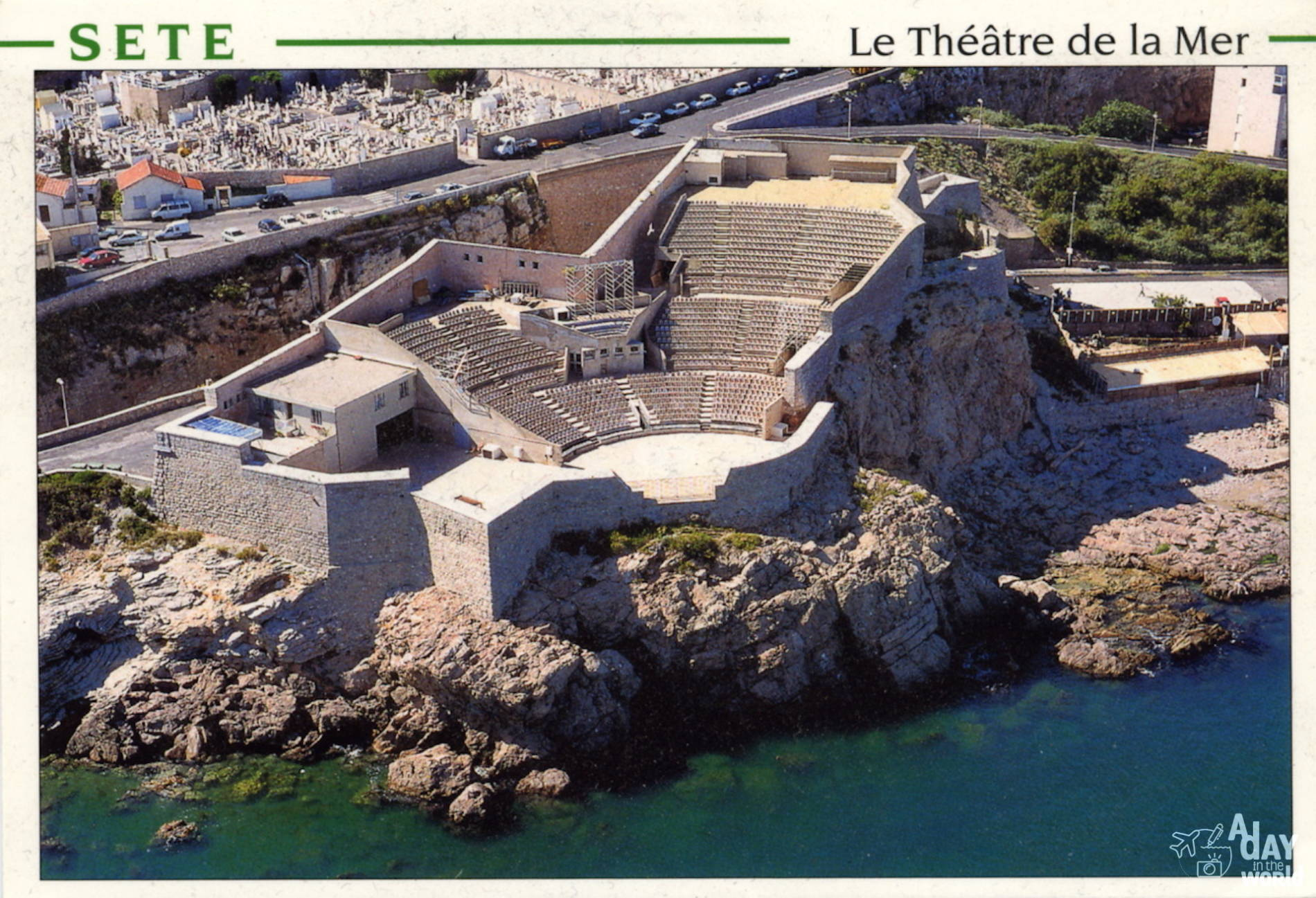 theatre de la mer sete drone