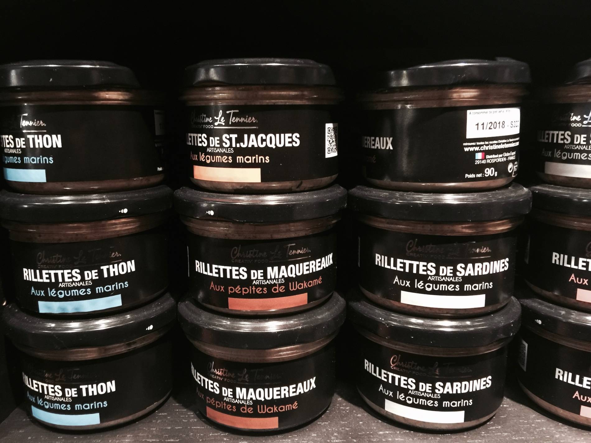 rillettes de saint jacques