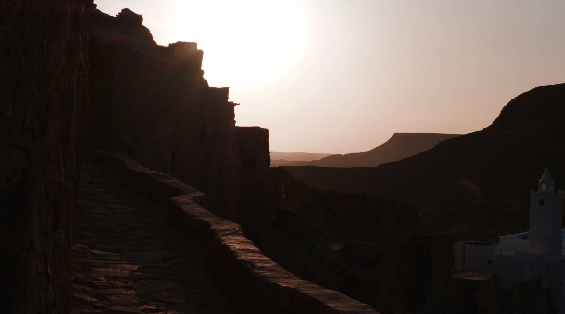 lever du soleil village chenini