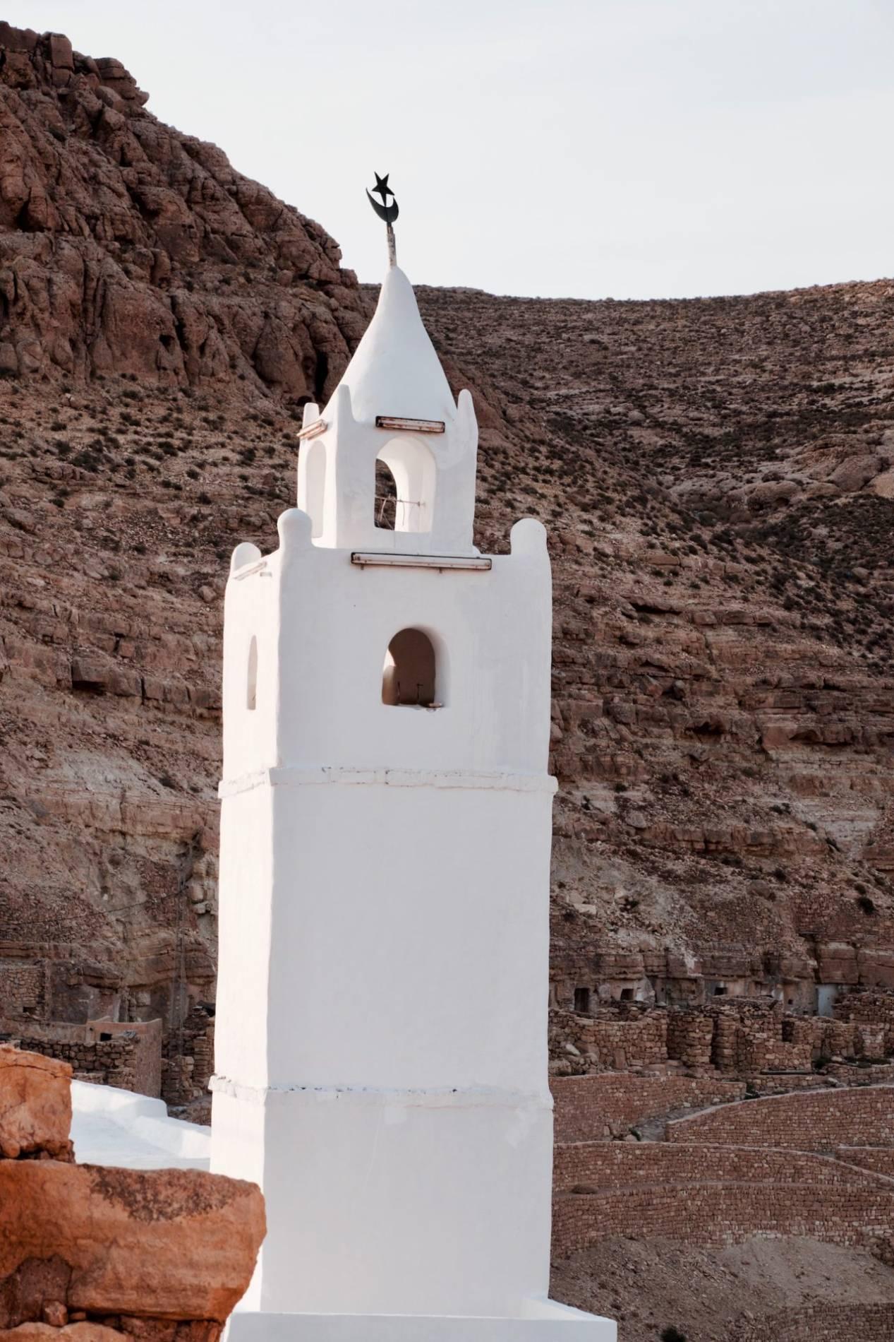 mosquée de chenini tunisie