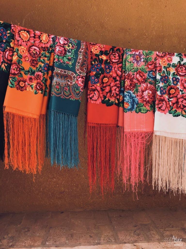 foulard-fleur-abyaneh-iran