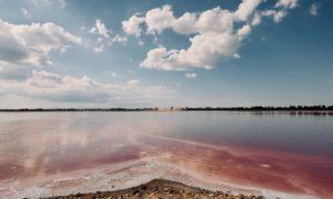 Paysages surnaturels aux salins d'Aigues-Mortes